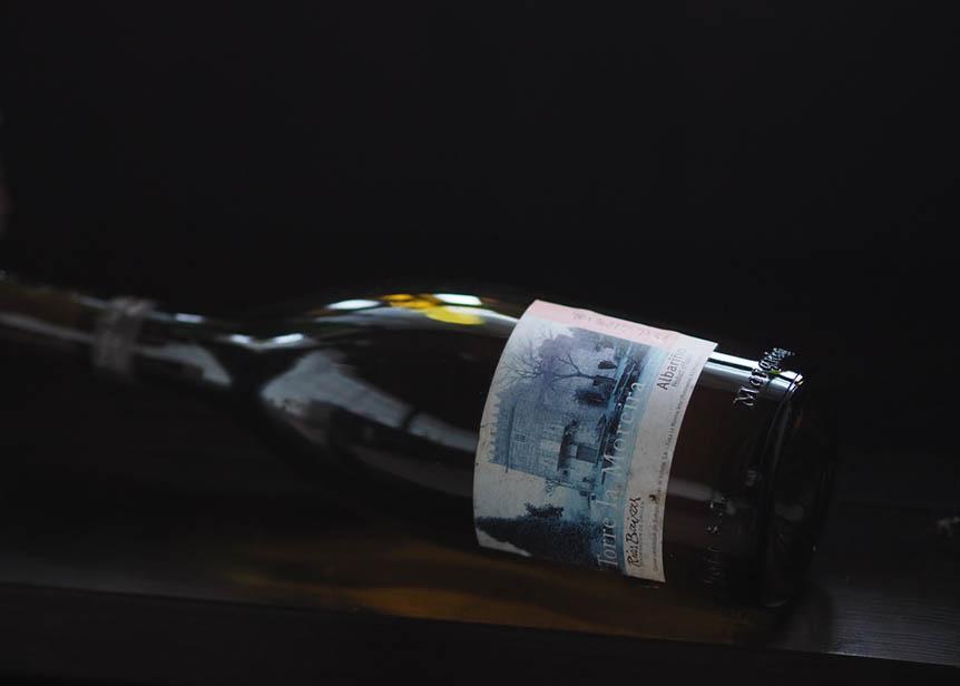 Botella antigua de Torre La Moreira