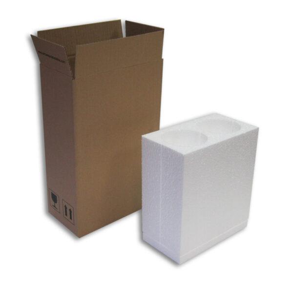 Caja Embalaje 2 uds