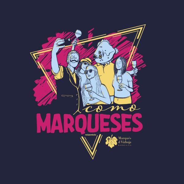 Foto diseño como marqueses edición reizentolo