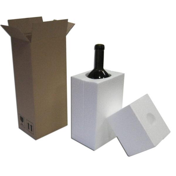 Caja Embalaje 1ud con botella