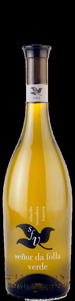Señor da Folla verde, botella antigua
