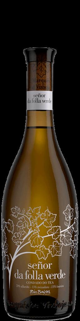 Señor da Folla verde, botella actual