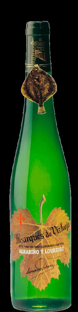 Marqués da Vizhoja botella antigua