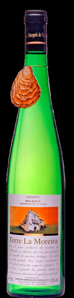 Torre La Moreira botella antigua