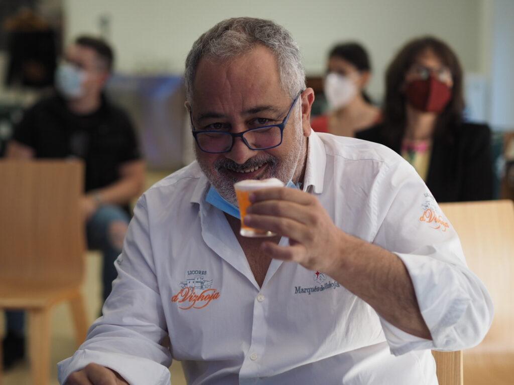 Jorge Peláez. Bodegas Marqués de Vizhoja